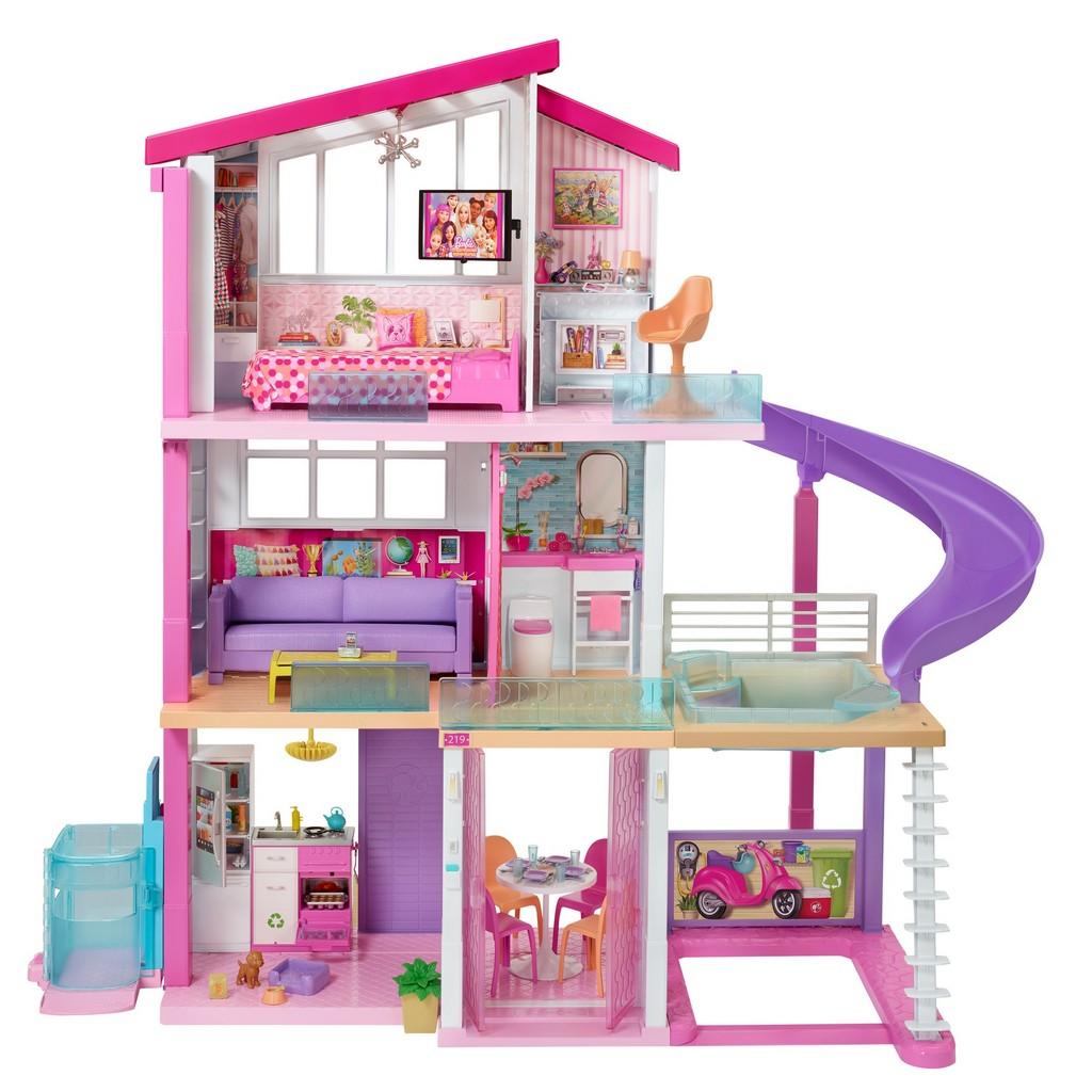 Barbie Dreamhouse Playset (New Elevator) - Mattel MTGNH53