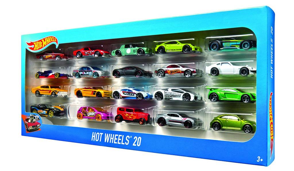 Hot Wheels 20 Car Gift Pack - Mattel MTH7045