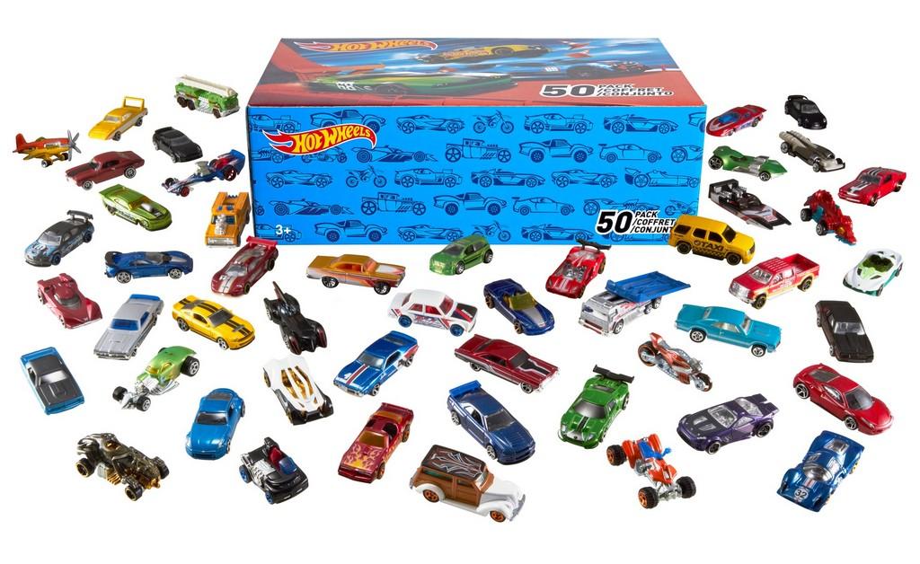Hot Wheels 50 Car Gift Pack - Mattel MTV6697