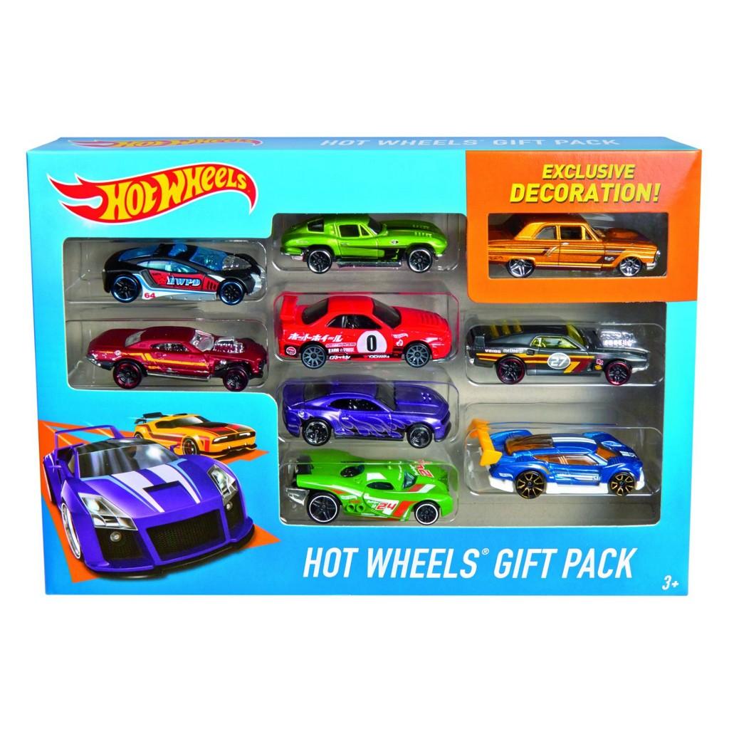 Hot Wheels 9-Car Gift Pack - Mattel MTX6999