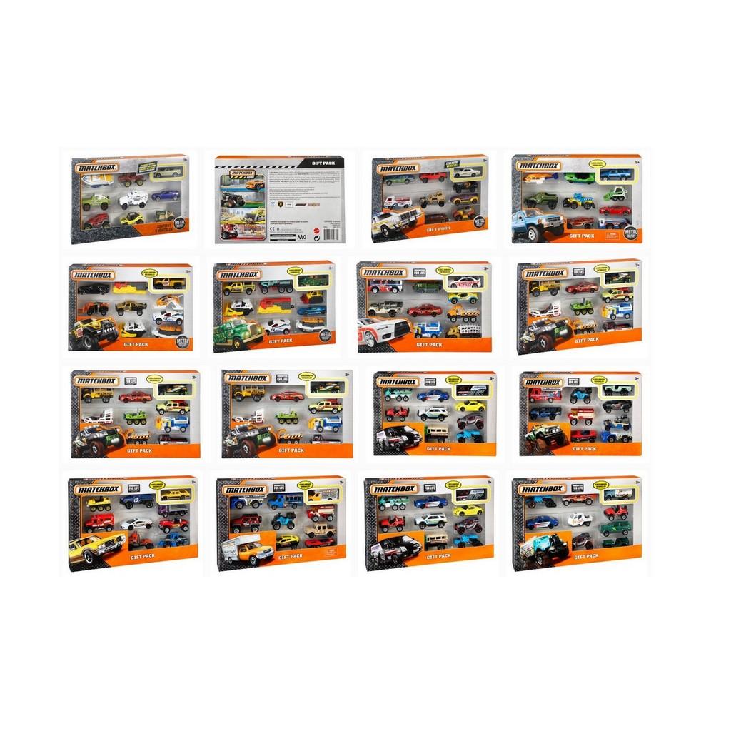 MATCHBOX GIFT PACK Assortment - Mattel MTX7111