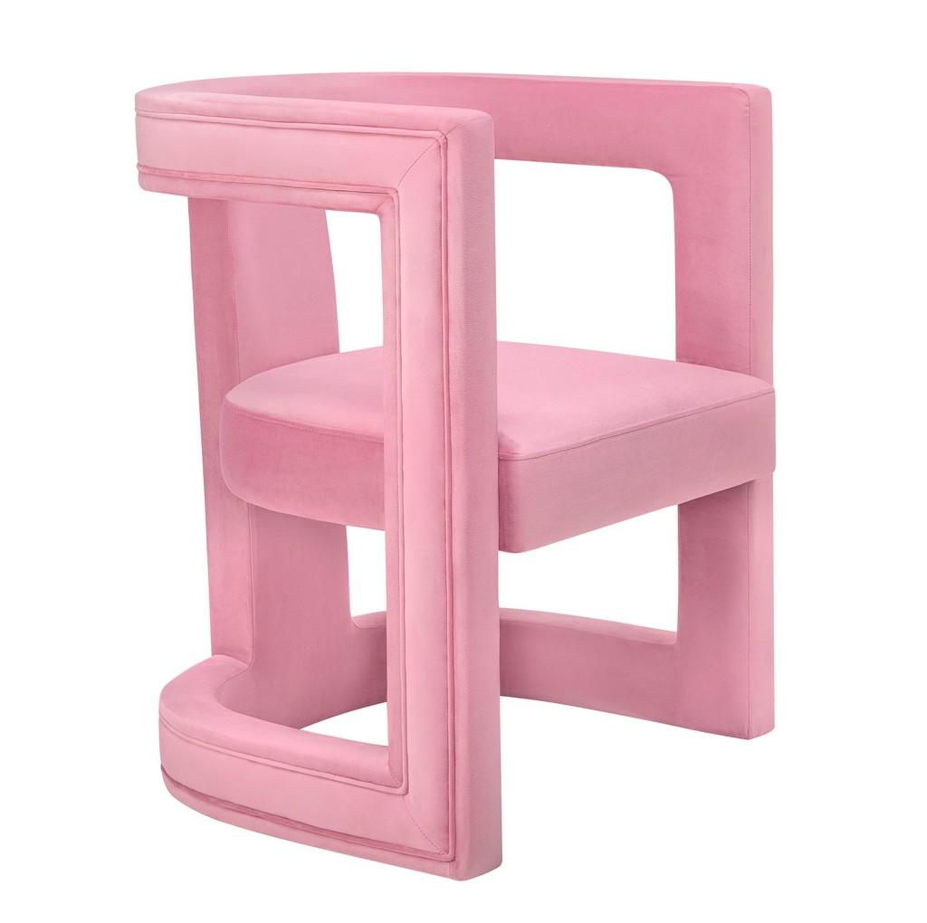Ada Pink Velvet Chair - TOV Furniture TOV-A209