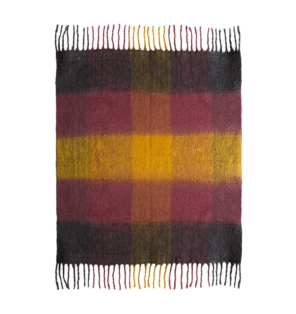 Afrino Wool Colored Throw - TOV Furniture TOV-C18272
