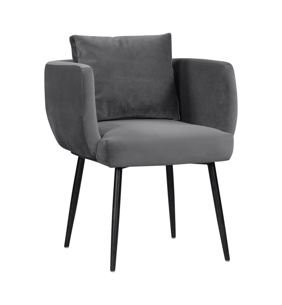 Alto Grey Velvet Chair - TOV Furniture TOV-D44044