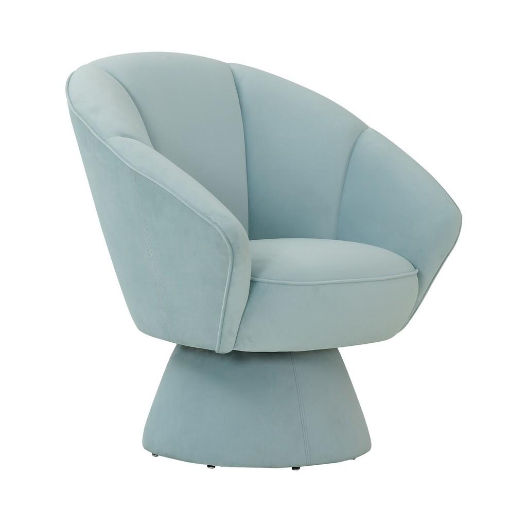 Allora Light Blue Accent Chair - TOV Furniture TOV-S68103