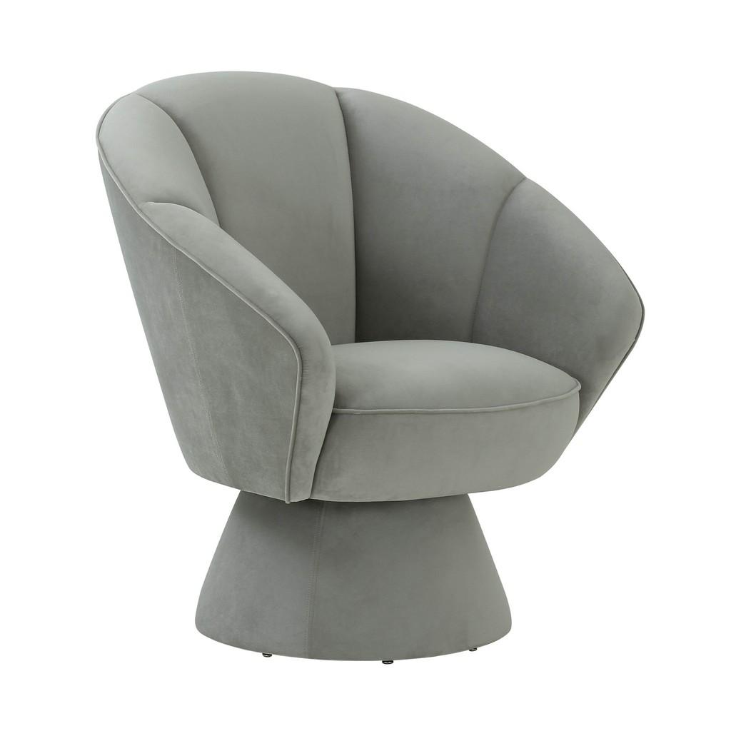 Allora Grey Accent Chair - TOV Furniture TOV-S68104