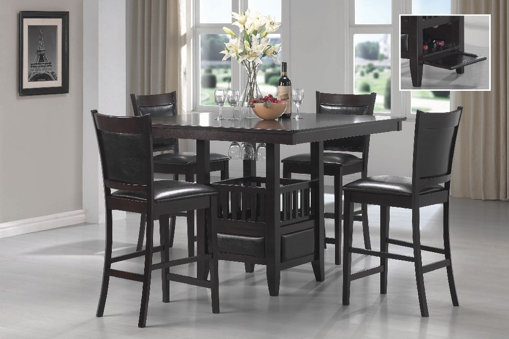 Coaster Transitional Dining Set Counter