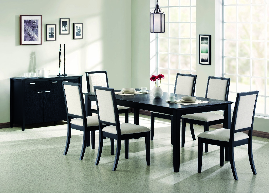 Coaster Louise Transitional Five Dining Set