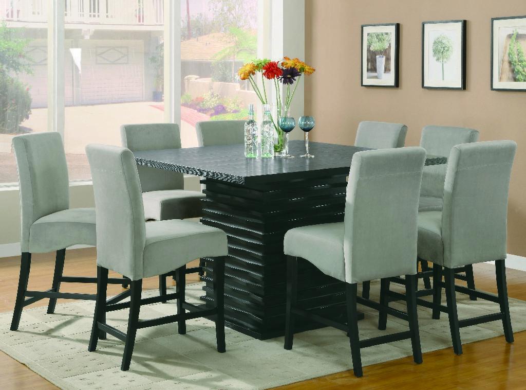 Coaster Stanton Contemporary Black Five Dining Set