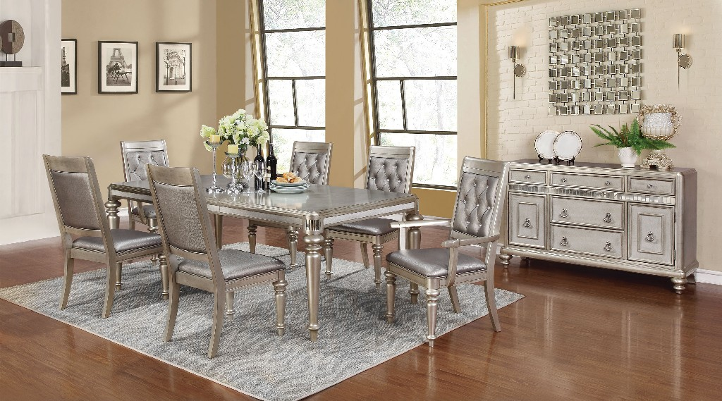 Coaster Metallic Dining Set