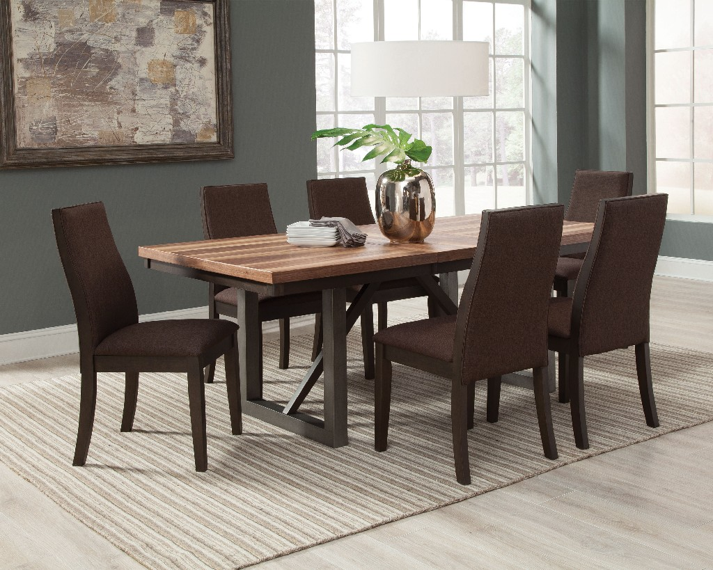 Coaster Walnut Dining Set