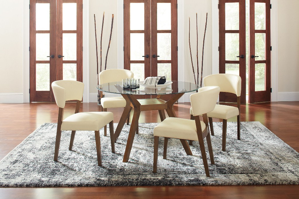 Coaster Furniture Dining Table Glass Set Photo