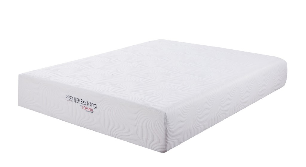 Coaster Ian White California King Memory Foam Mattress