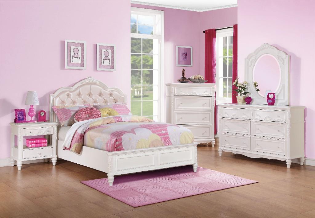 Coaster White Twin Four Set