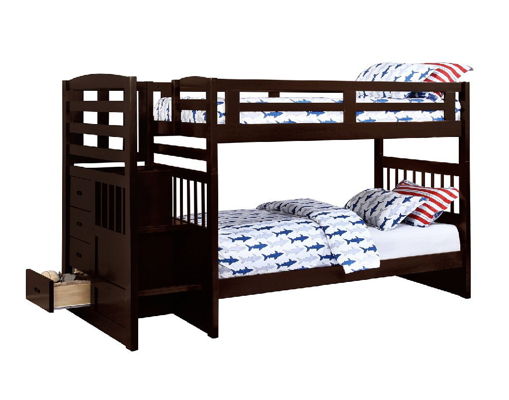 Traditional Twin Bunk Bed