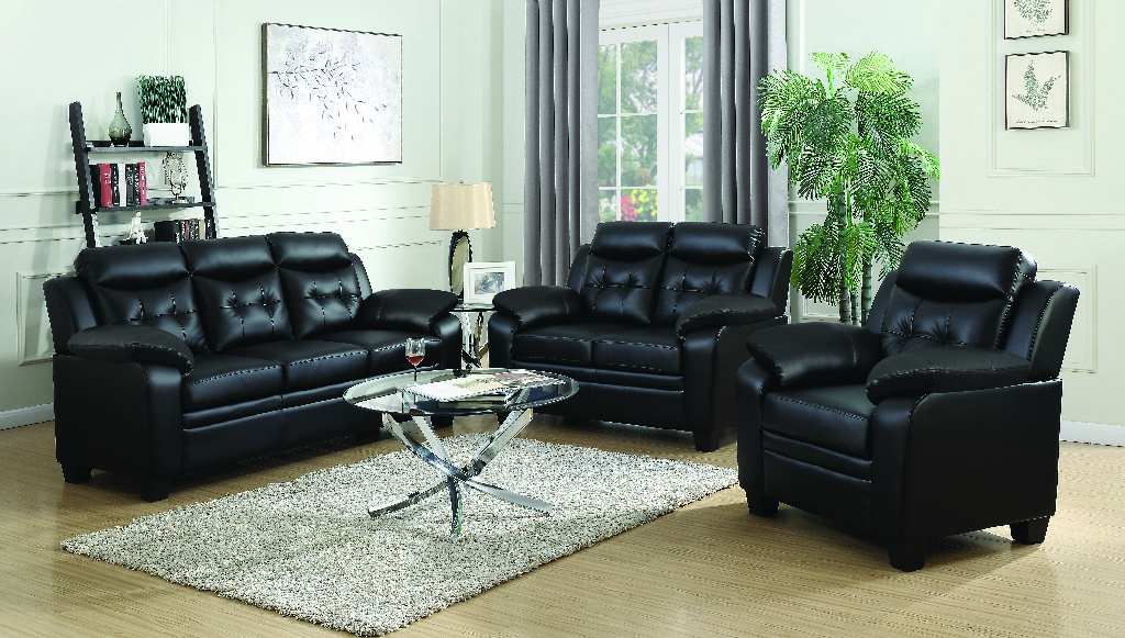 Coaster Finley Casual Brown Two Living Room Set