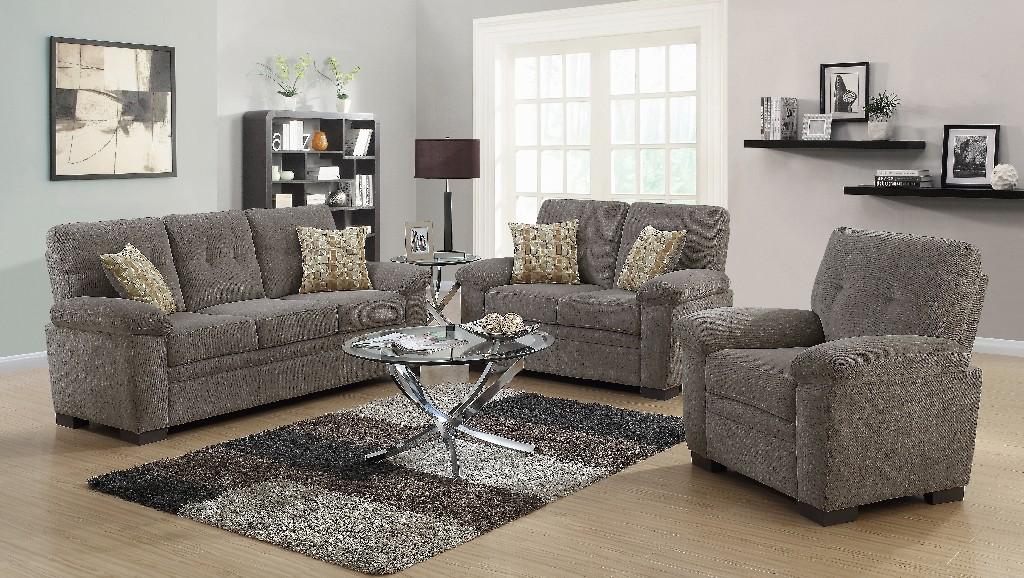 Coaster Fairbairn Casual Brown Two Living Room Set