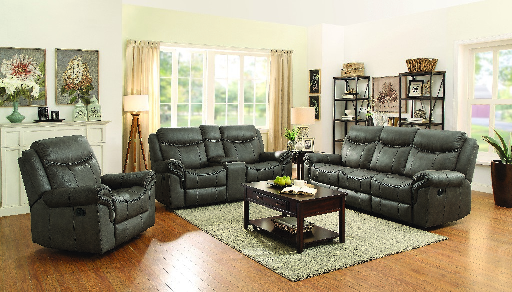 Coaster Transitional Light Brown Three Living Room Set