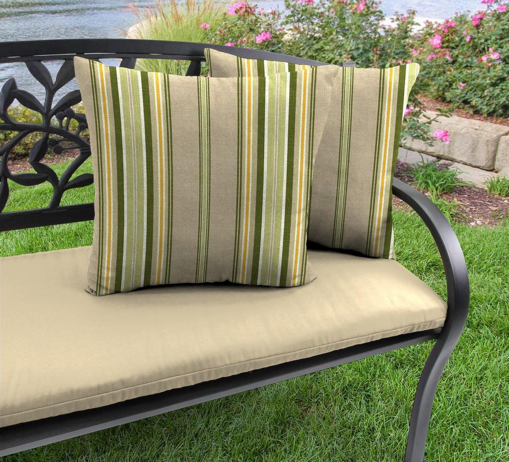 "20"" Outdoor Accessory Throw Pillows, Set of 2-TERRACE SUNRISE RICHLOOM - Jordan Manufacturing 9972PK2-6223D"