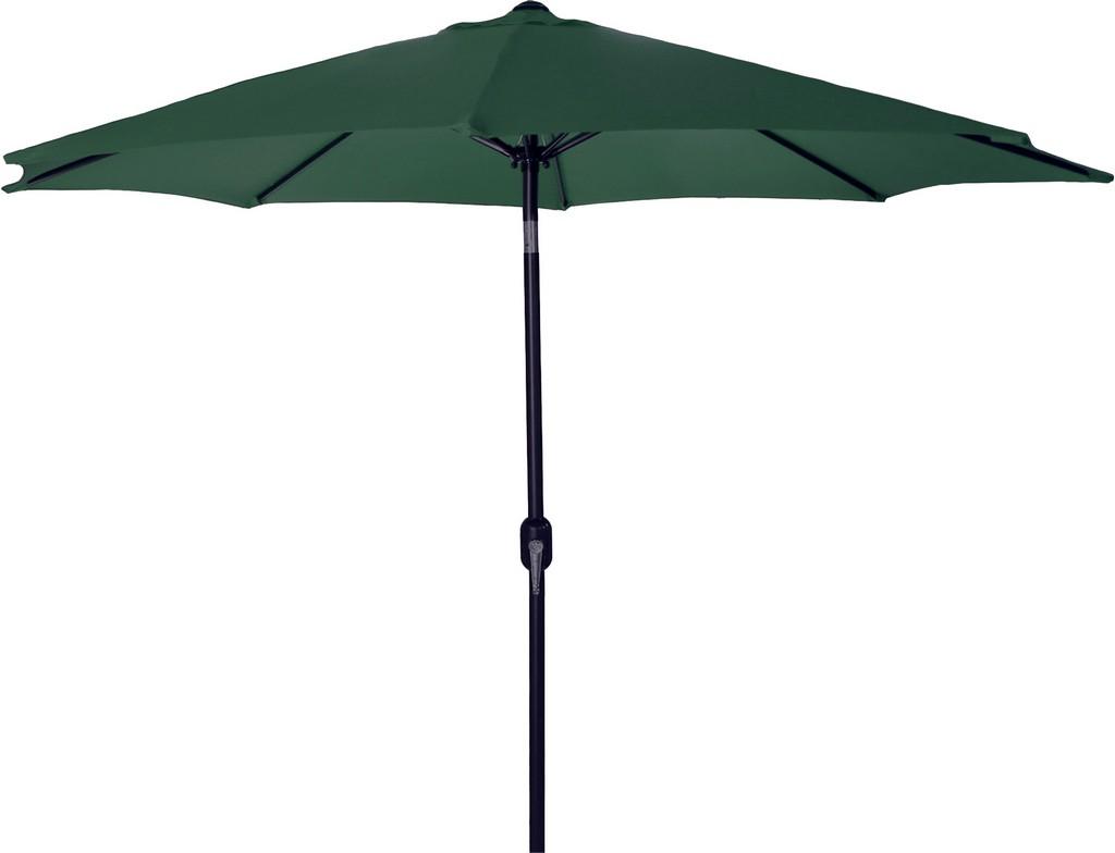 9Ft Steel Market Umbrella In Green - Jordan Manufacturing US904L-GRN