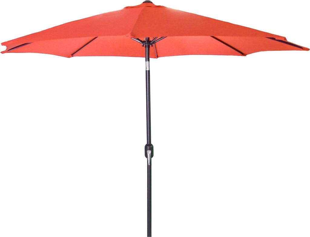 9Ft Steel Market Umbrella In Melon - Jordan Manufacturing US904L-MELON