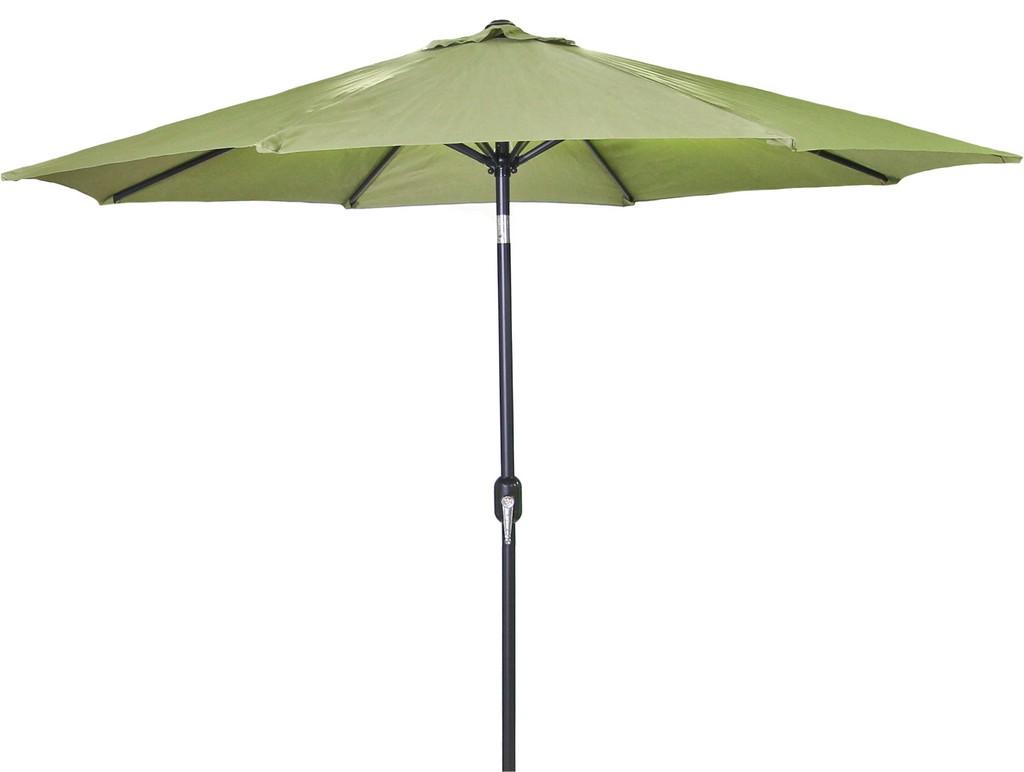 9Ft Steel Market Umbrella In Olive - Jordan Manufacturing US904L-OLV