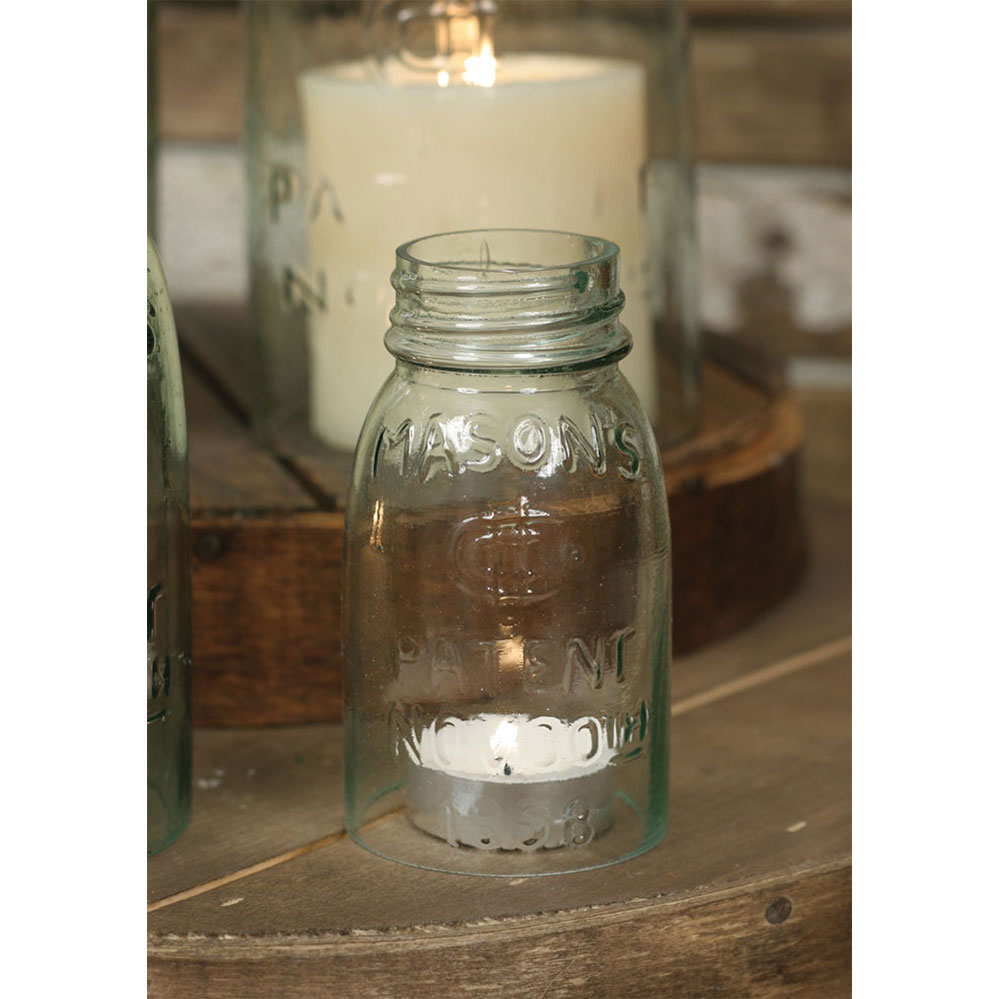 1/4 Pint Mason Jar Chimney - CTW Home Collection 360080