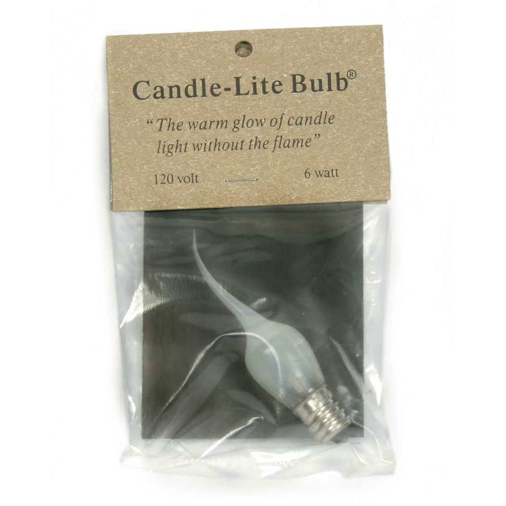 6 Watt Medium Candle-Lite Light Bulb - Box of 12 - CTW Home Collection 3640801