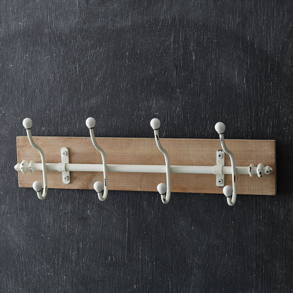 Alma 4-Hook Wall Rack - CTW Home Collection 530373