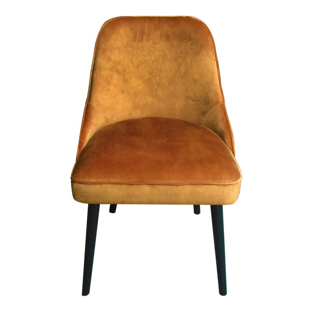 Moes Dining Chair Burnt Orange Moe