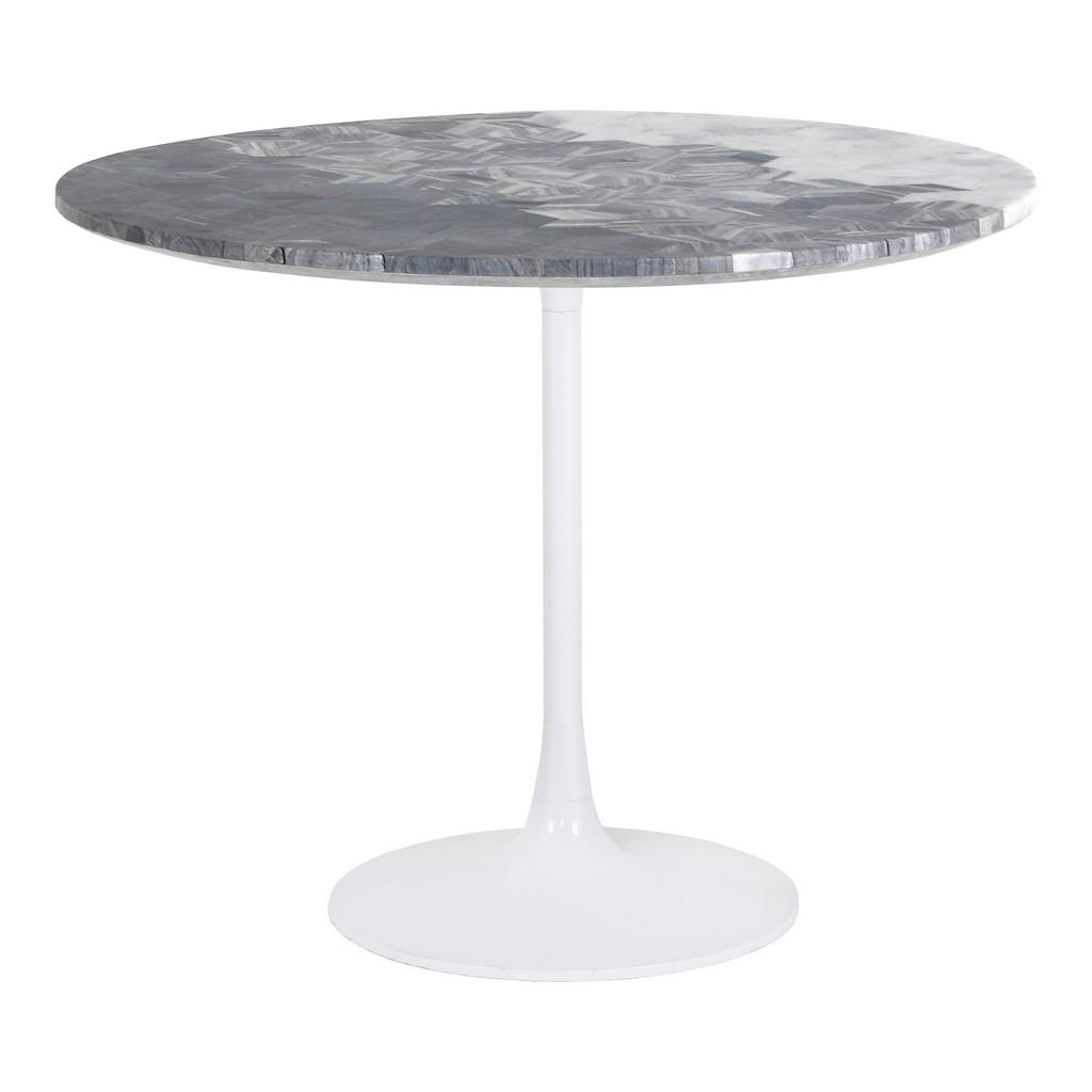 Moes Furniture Pierce Round Dining Table Moe