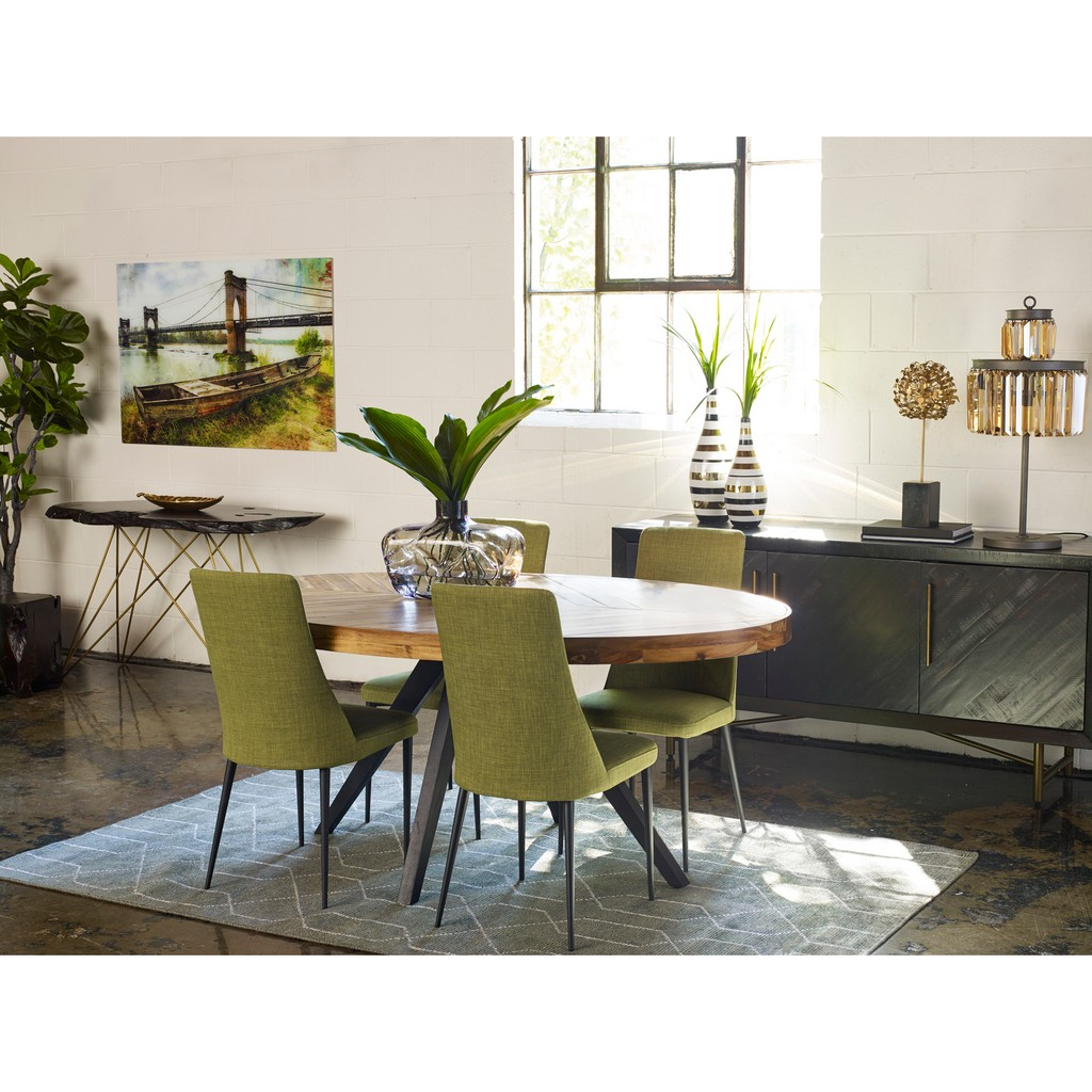 Parq Oval Dining Table Moe