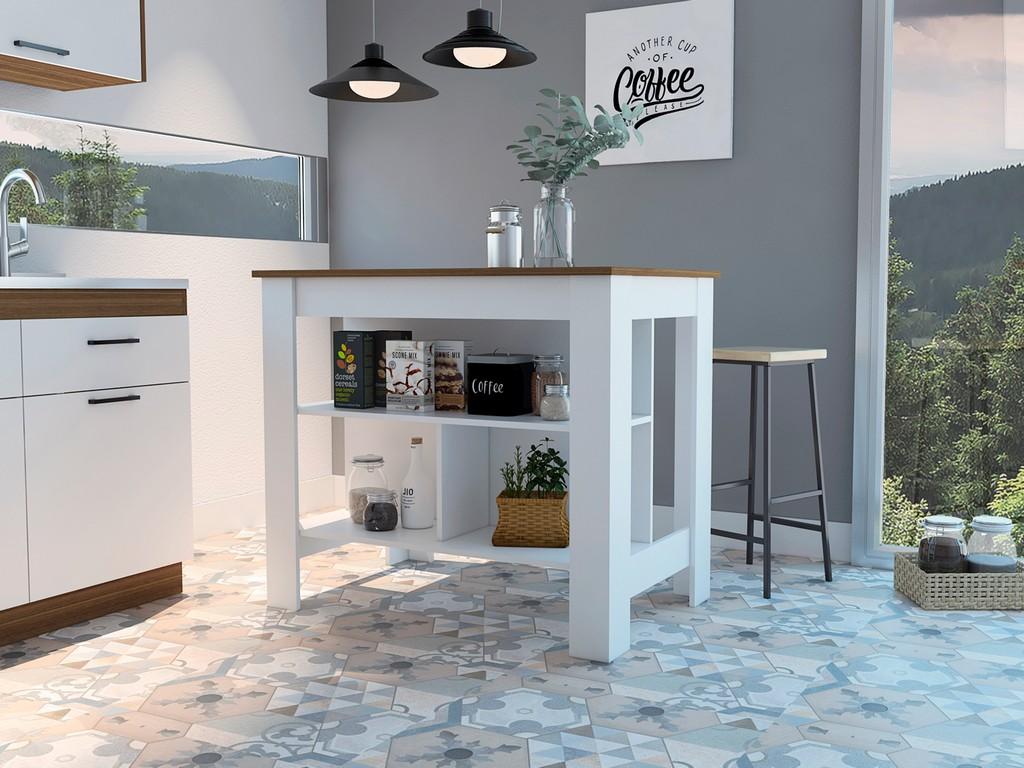 Brooklyn Kitchen Island - RTA Design ABD5011