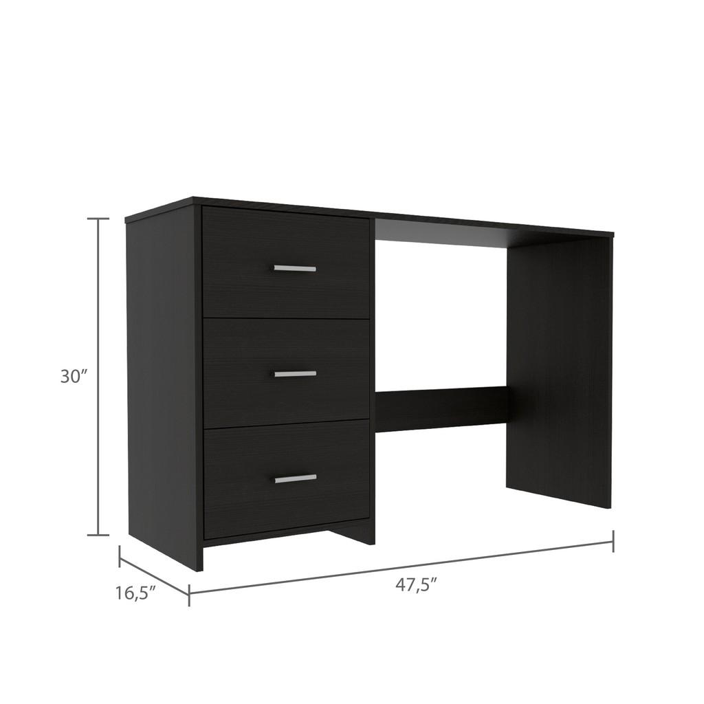 Berlin Three Drawers Desk - RTA Design ELW5561