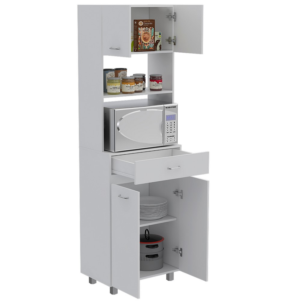 Auburn Microwave Pantry Cabinet - RTA Design MLB5578