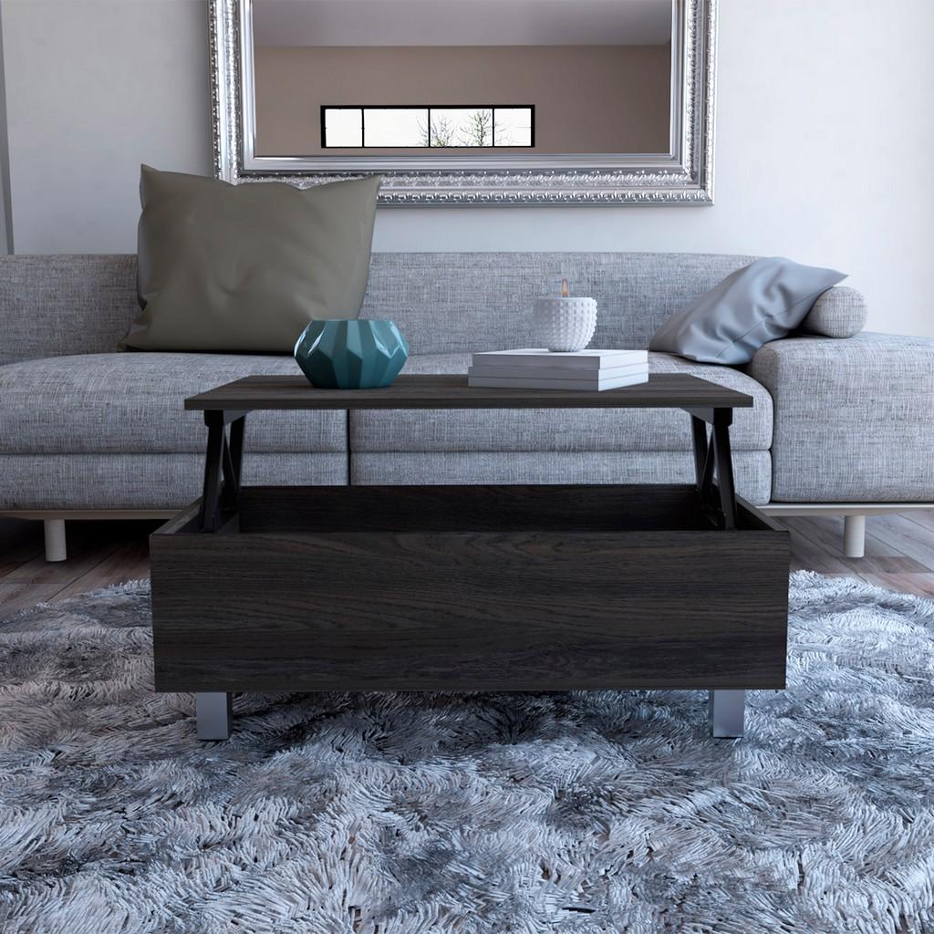 Boston Darkbrown Top Coffee Liftable Table - RTA Design MLC5017