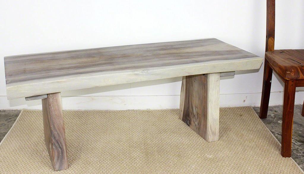 All Natural Sitting Bench - Strata Furniture BCH481818-L-AGR