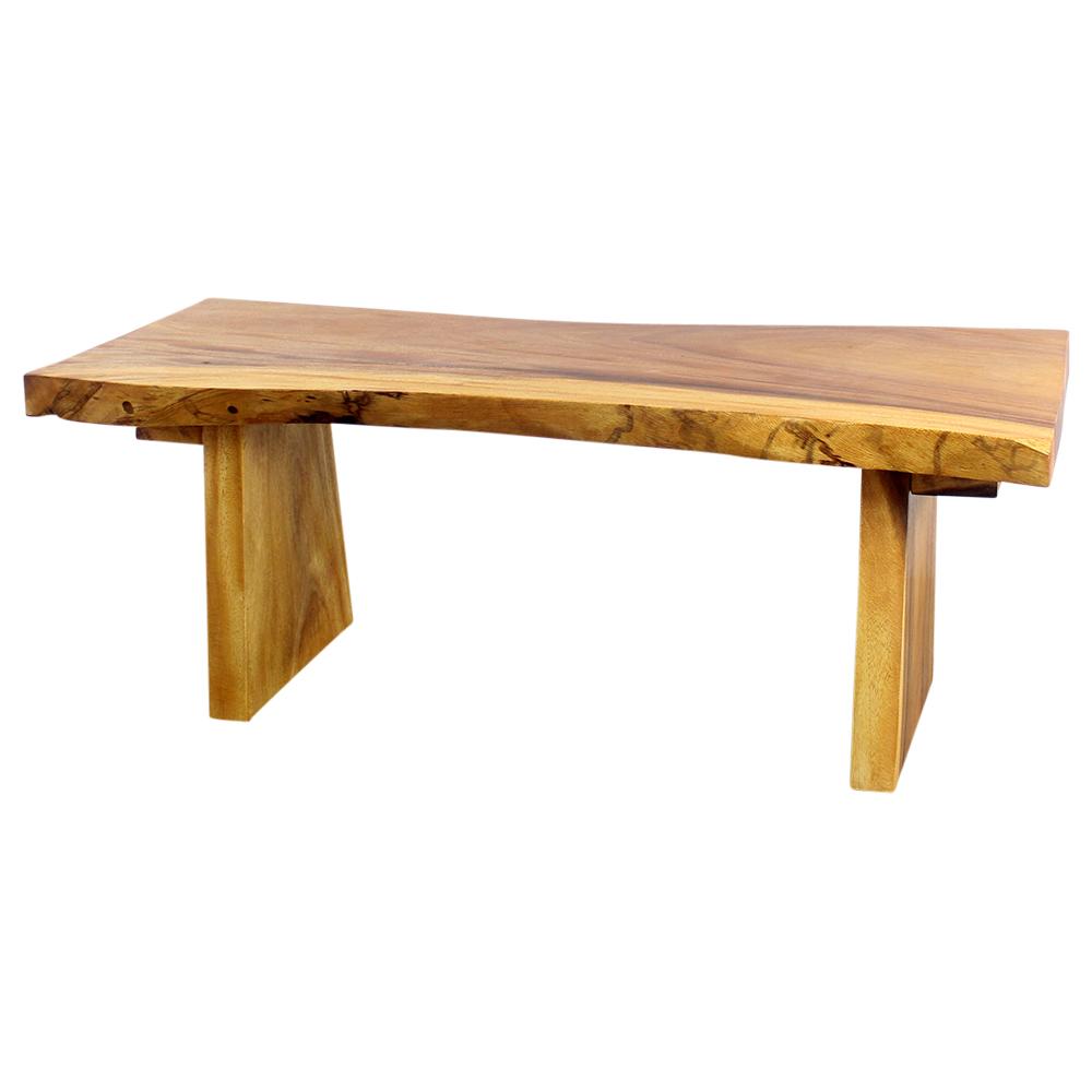 All Natural Sitting Bench - Strata Furniture BCH481818-L-OAK