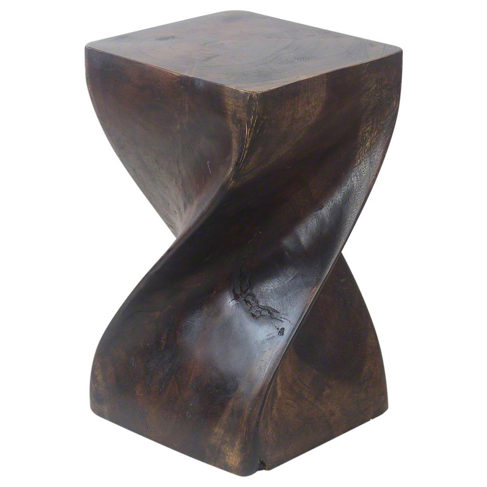 """Big Twist 12""""x20"""" End Table - Strata Furniture BTS1220-L-MOC"""