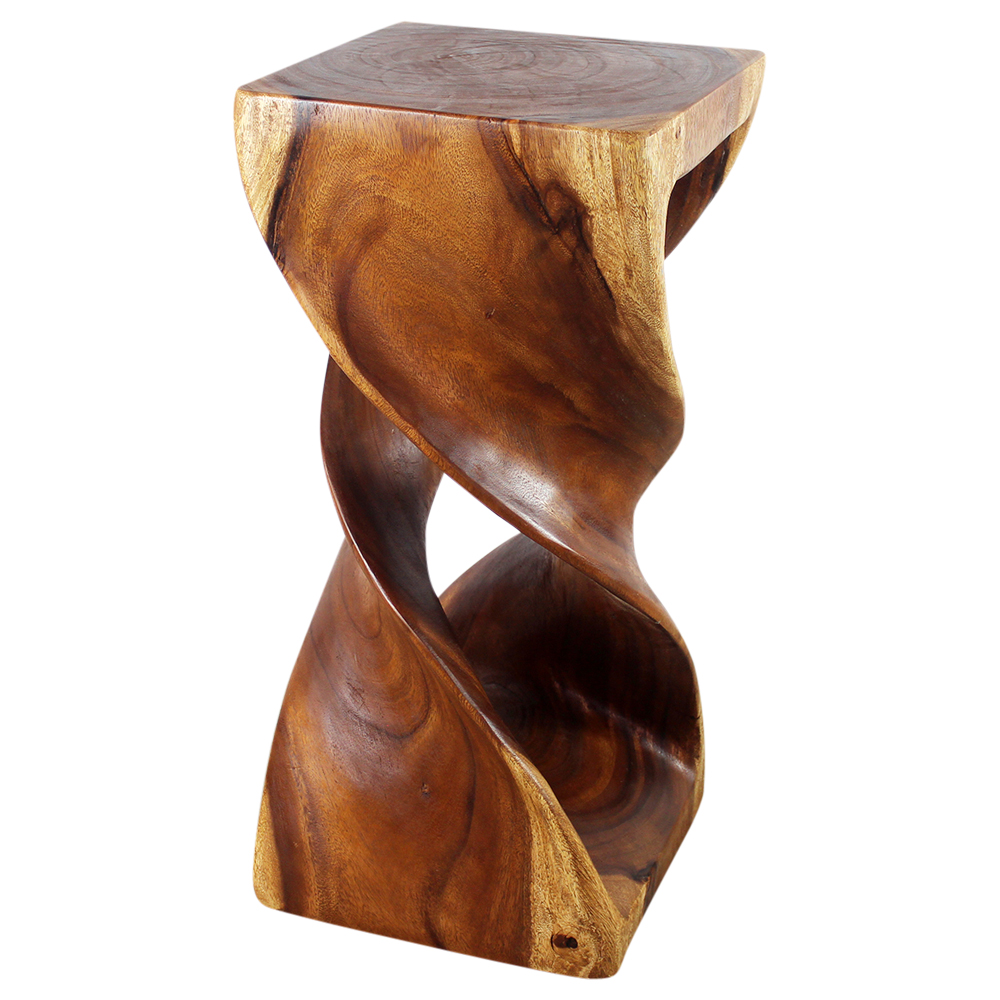 """Double Twist 14""""x30"""" End Table - Strata Furniture DTS1430-L-WAL"""