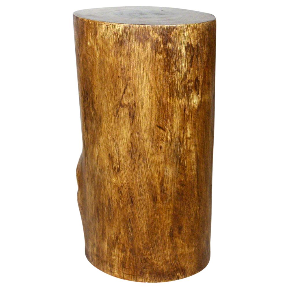 """Mango Stump End Table 22"""" - Strata Furniture MPSS11D22-L-WAL"""