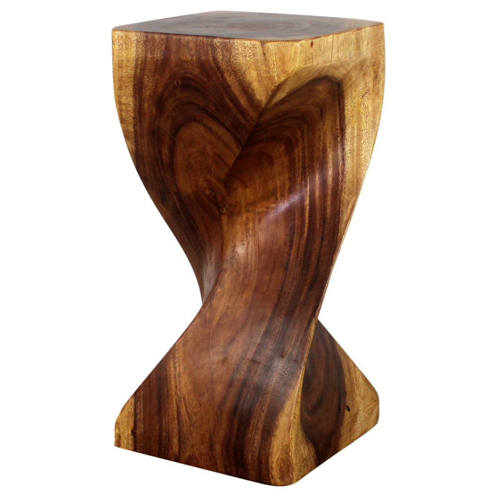"""Single Twist End Table 12""""x24"""" - Strata Furniture ST1224-L-WAL"""