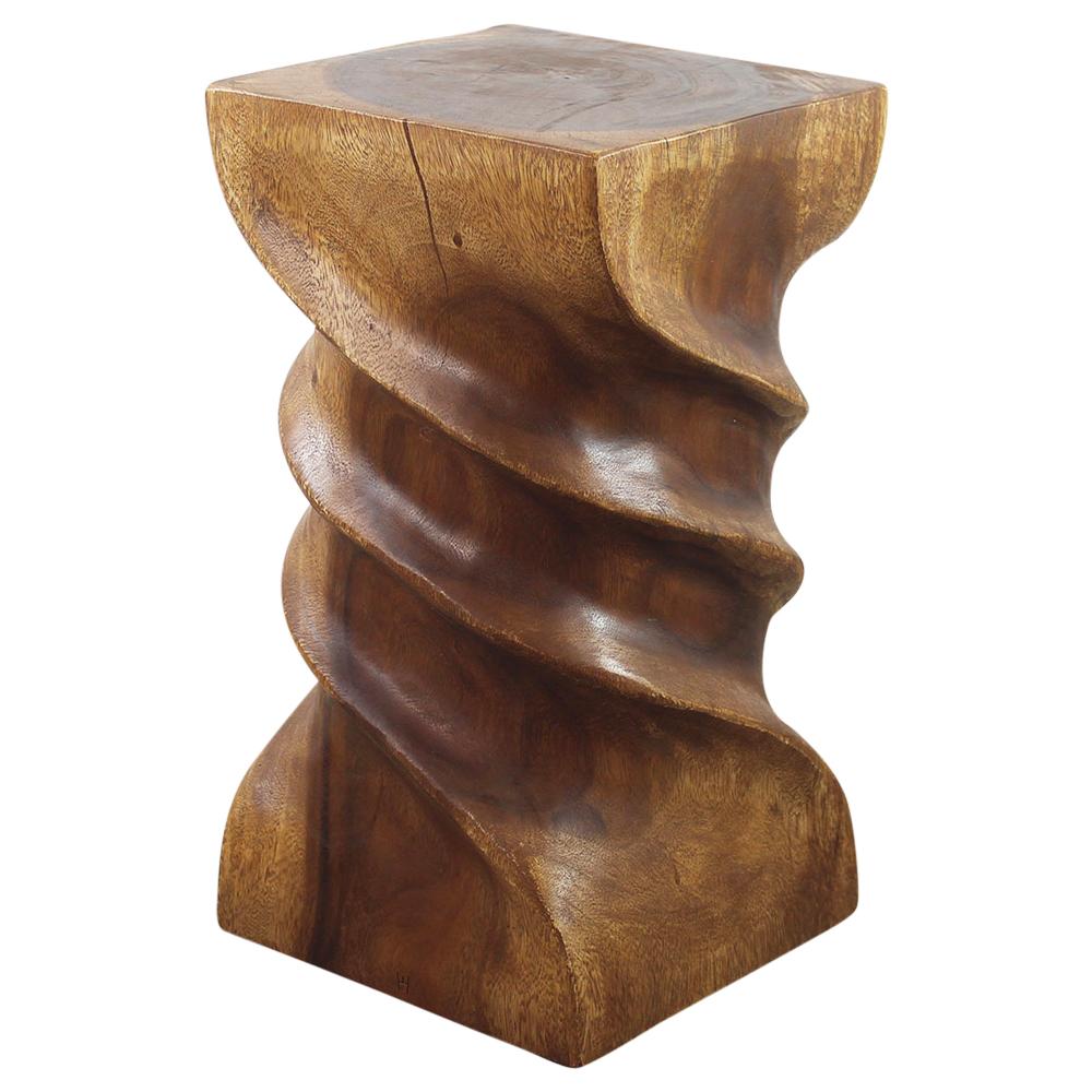 Triple Twist Table - Strata Furniture TTS1222-L-WAL