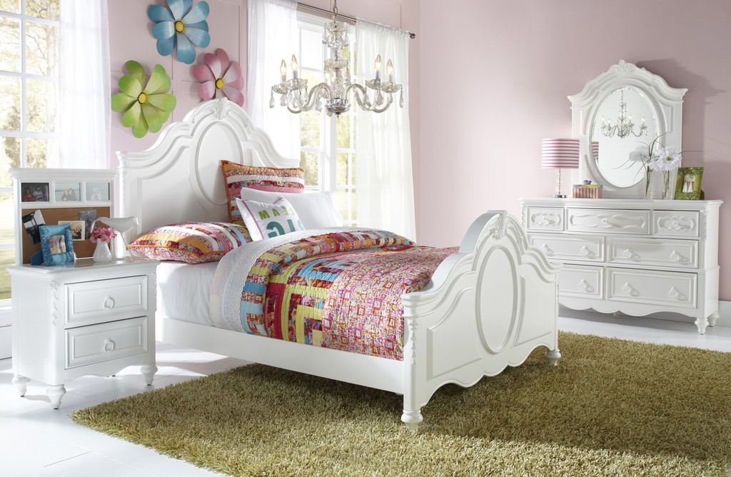 Youth Twin Panel Bedroom Set