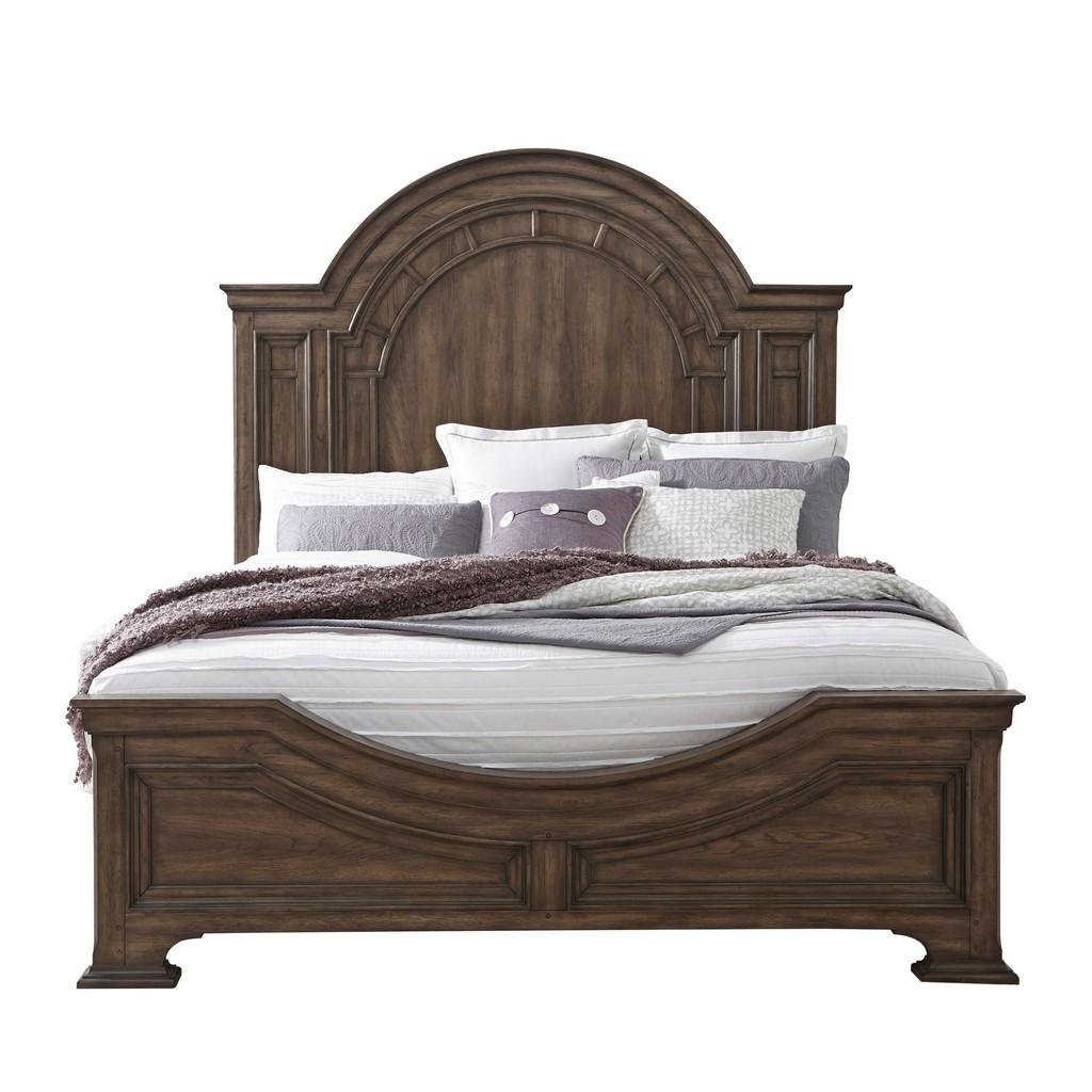 Estates California King Bed Brown