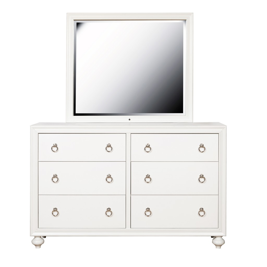 Samuel Lawrence Furniture Kids 6 Drawer Dresser - Home Meridian S458-410 Image