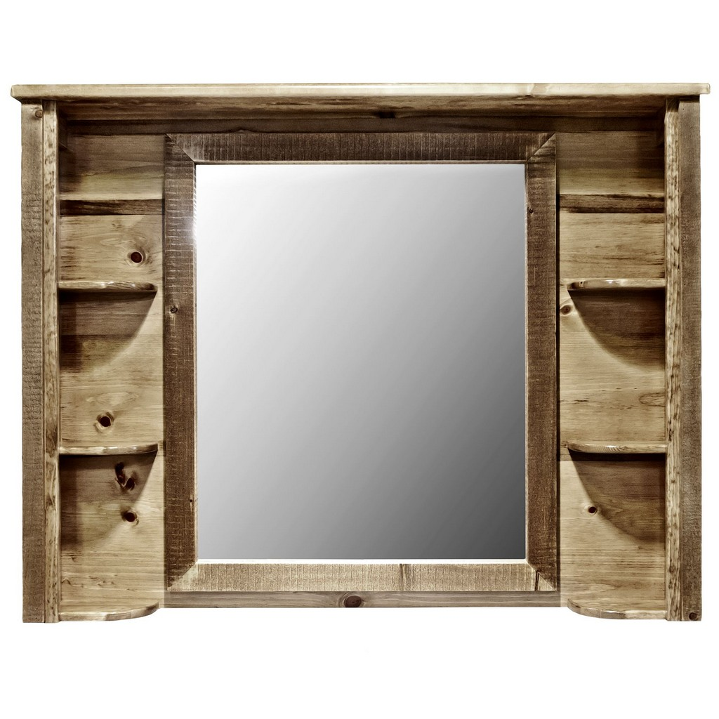 Dresser Mirror Stain Clear Lacquer