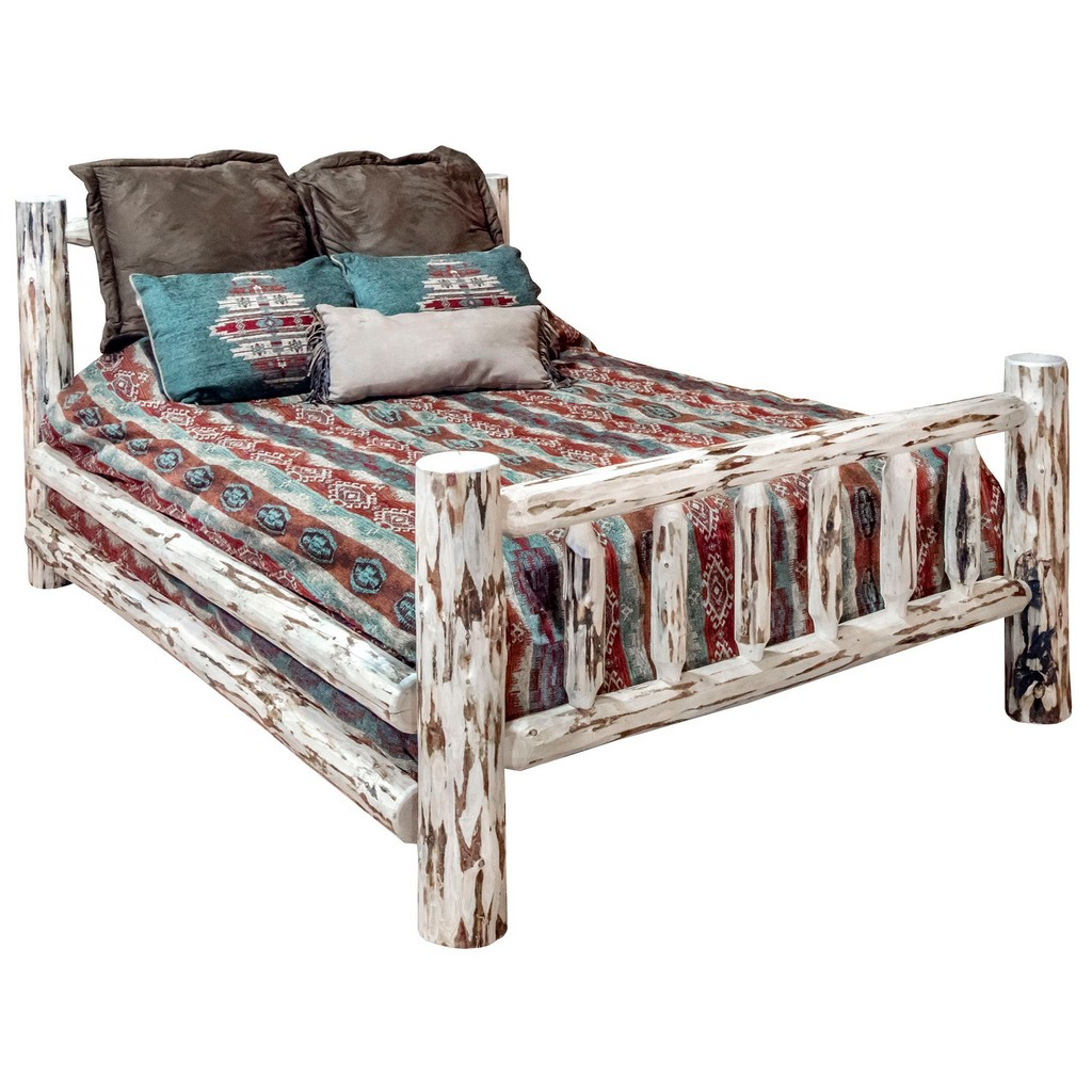 Twin Bed Clear Lacquer