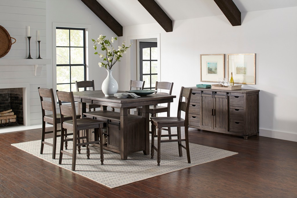 Pine Adjustable Dining Table