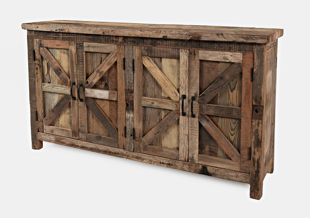 Prairie Door Accent Cabinet